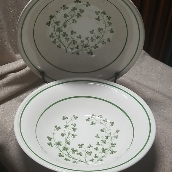 Arklow Limerick Ireland Other - Arklow Ireland Honey Stone Shamrock bowls